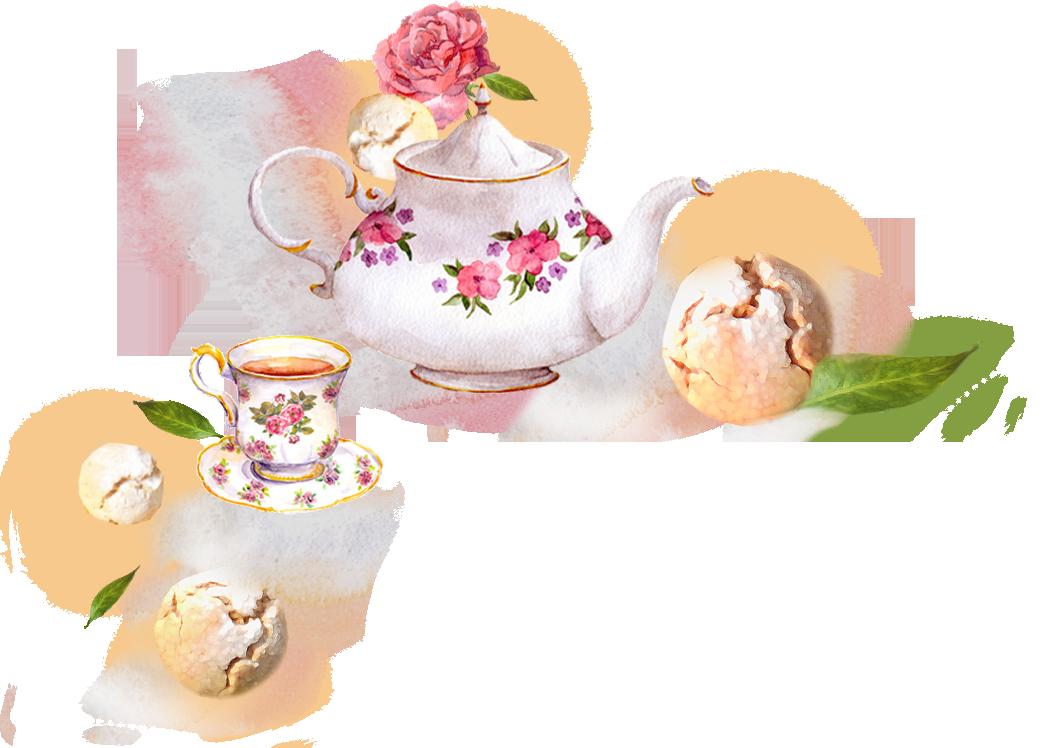 Çay ve Sakızlı Kurabiye